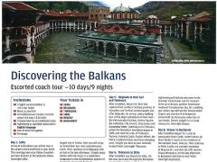 The Balkans (Croatia, Slovenia & Albania)