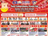 CS Travel Twin Celebration Travel Fair @ Suntec City