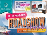 Book your DREAMY vacation from ONLY $199 onwards at Dream Cruises Roadshow @ Bugis Junction level 1 Malay Street from 18 - 24 March 2019!