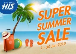 H.I.S. Super Summer Sale 2019