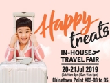 Happy Treats In-house Travel Fair this weekend with CTC Travel!