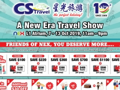 Travel In New Era @ Serangoon Nex