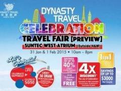 Dynasty Travel CELEBRATION Travel Fair Preview