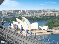Experience the magnificient view of Sydney with BridgeClimb Express