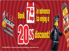 20% Off Entrance Tickets to Legoland for Early Birds