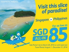 Explore Philippines from SGD 85 with Cebu Pacific