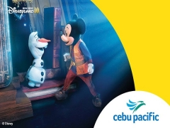 Enjoy Hong Kong Disneyland with Cebu Pacific Air Ticket