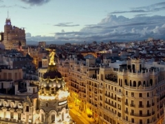 Two-to-Travel Business Class fares to Madrid from SGD4,668 all-in per person