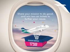 Spread the Joy and WIN 2 Air Tickets from SilkAir