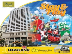 Stay and Play from RM 988 with The Royale Bintang and Legoland