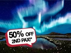 6 Days Northern lights Hunt, 2nd pax from USD863*