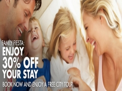Enjoy 30% Off your Stay with your Family with Far East Hospitality