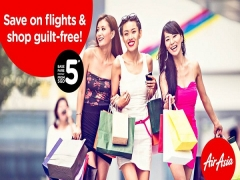 Save on Flights with AirAsia SGD5 Promo Fare