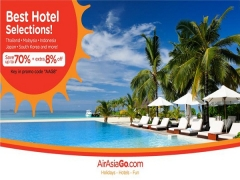 70% + 8% Off Best Hotel Rates with AirAsiaGo