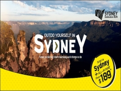 Outdo Yourself in Sydney and Scoot 15% Off Selected Fares