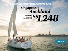Flights to New Zealand Early Bird Special