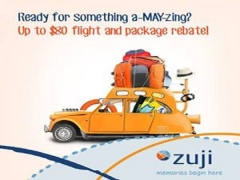 Amazing Travel Sale of Up to SGD160 Off your Next Holiday this May with Zuji and Maybank
