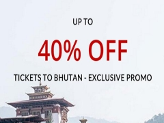 40% discount on Singapore Paro Route by Royal Bhutan Airlines, Drukair
