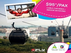 Free Your Mind. Take Flight from SGD95 with Singapore Cable Car
