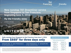 Fly to San Francisco with United Airlines