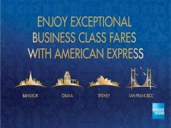 Business Class Promotion With American Express & Singapore Airlines