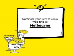 WIN a FREE Trip to Melbourne for your Wifey from Scoot