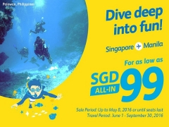 Dive Deep into fun in Manila with Cebu Pacific from SGD99