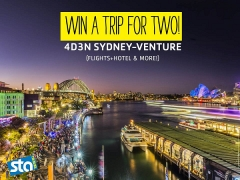 Win a 4 days 3 nights trip for two to Sydney in June with STA Travel!