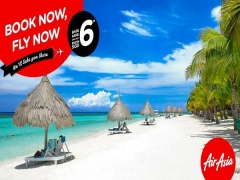 Fly with AirAsia to Bali, Langkawi, Pattaya and other Destinations from SGD6
