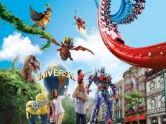 50% OFF* 2nd Adult One-Day Pass in Universal Studios Singapore for NTUC Members