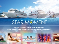 Share your desired moment onboard Star Cruise and win a FREE cruise package for 2!