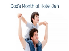 Celebrate Dad's Month at Hotel Jen from SGD125