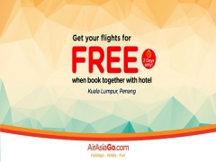 Get your Flights for FREE when Book Together with Hotel via AirAsiaGo