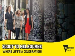 Scoot to Melbourne with 15% Off using VICTORIA Promo Code