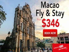 Experience Macao and Enjoy Up to 56% Off Hotel with CheapTickets.sg