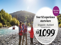 Book your New Zealand Experience in Auckland from SGD1,099 via Air New Zealand