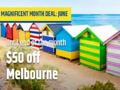 S$50 Off Flights to Melbourne this June in CheapTickets.sg