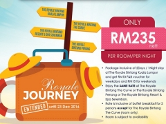 Explore Royale Package from The Royale Bintang from RM 235