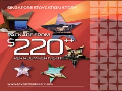 Staycation Deal from SGD220 at Bay Hotel Singapore