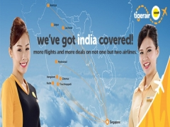Fly to India with TigerAir from SGD198