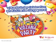 WIN a Birthday Package at Kidzania Singapore!