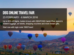 DBS Online Travel Fair 2016