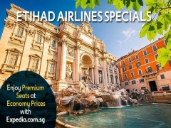 Etihad Airlines' Special Deal with Expedia from SGD3,308 to Europe