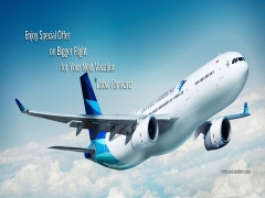 Enjoy Special Fare On Bigger Flight For Your Next Vacation with Garuda Indonesia