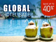 Hotels.com: Save up to 40%* Global Hotel Sale