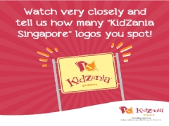 WIN KidZania Singapore Tickets with FORMULA 1 Test Speed Contest