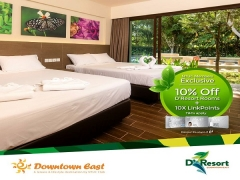 Enjoy 10% Off Room Rates at D'Resort @ Downtown East with NTUC Plus!