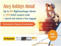 Ahoy, Holidays Ahead | Book your next Getaway with Zuji and Maybank