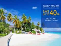 Save 40% Exotic Escapes at Centara Hotels & Resorts