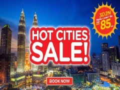 Hot Cities on Sale from SGD85 with AirAsiaGo